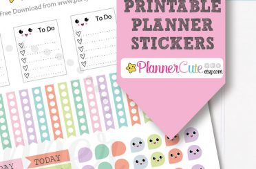 Printable Kawaii Planner Stickers – Free Download