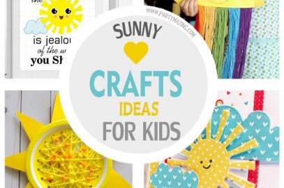 Sunny Crafts Ideas for Summer for Your Kids – Free Download included