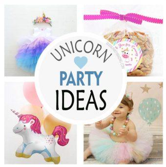 +16 Unicorn Birthday Party Trend Ideas