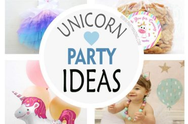 +16 Unicorn Birthday Party Trend Ideas