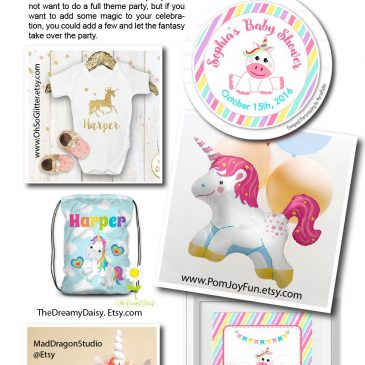 Unicorn Birthday Party: Trend Ideas