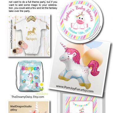 Unicorn Birthday Party: Trend Ideas