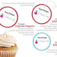 Printable Owl Cupcake Toppers, Pink Printable Owl Baby shower, DIY, Instant download, Pink Owl Collection D280