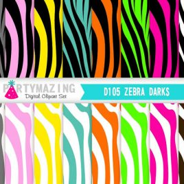 Zebra Digital Paper, Scrapbooking paper, Zebra Background, Animal print paper,Safari Digital paper, Zoo paper  D105