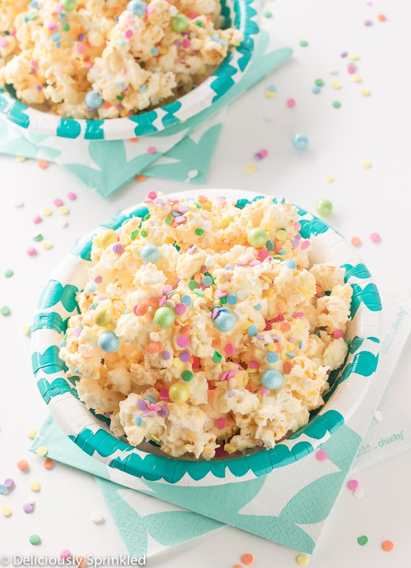 Birthday Cake Popcorn BY deliciouslysprinkled. Candyland Popcorn Party Ideas by Partymazing. Get in the mood of a Candyland colorful party with these partymazing ideas. Visit www.partymazing.com for more Party & Crafts for your next Party.