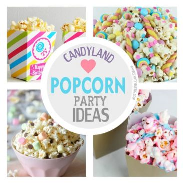 Candyland Popcorn Party Ideas