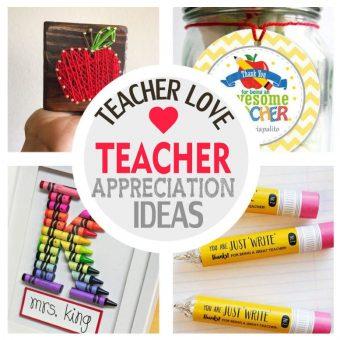 Easy Teacher Appreciation Gift Ideas