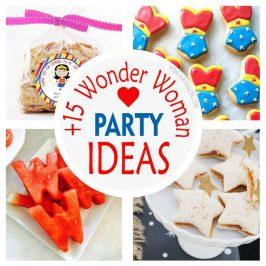 15 Amazing Wonder Woman Party Ideas
