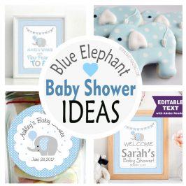 Boy Elephant Baby Shower