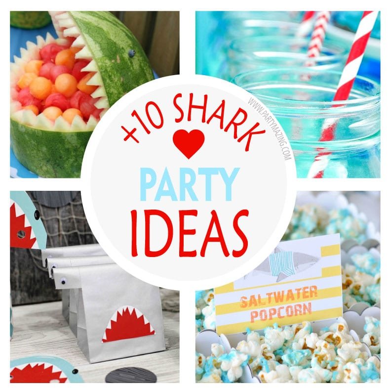 10 Shark Under The Sea Party Ideas Partymazing
