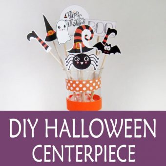 Halloween Centerpiece – Free Printable