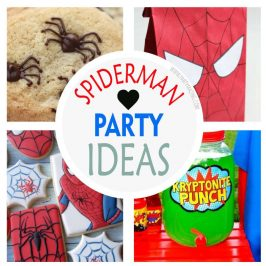 +12 Spider-man Party Ideas