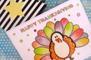 Free Turkey Thanksgiving Coloring Page for the kids