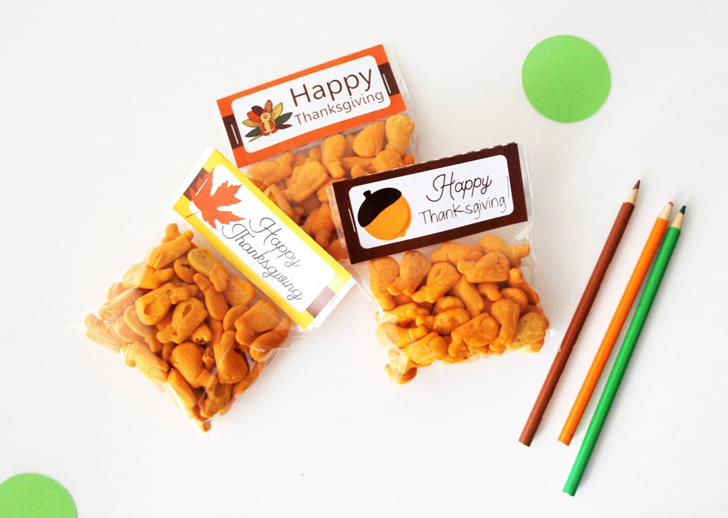Last Minute Printable Thanksgiving Bag Toppers, Happy ...