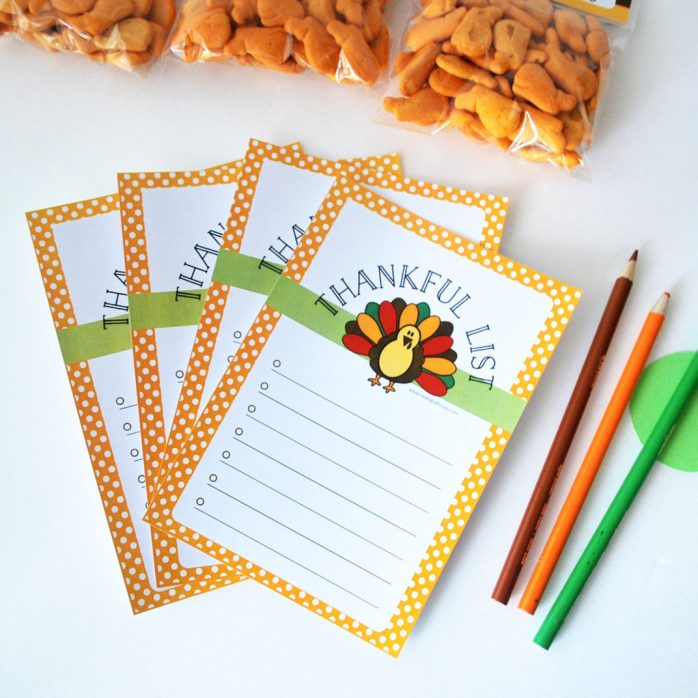 Thanksgiving Thankful List, printable Cute Turkey Thanksgiving List, I'm Thankful For, Thankful Sheet, Instant Download A495