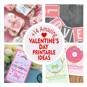 +14 Amazing Valentine's Day Printable Ideas