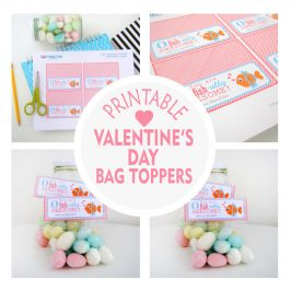 You're officially awesome! Printable Valentine's day Bag Toppers