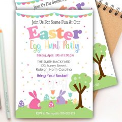 Easter Egg Hunt Easter Egg Hunt | Editable Printable Invitation | E448