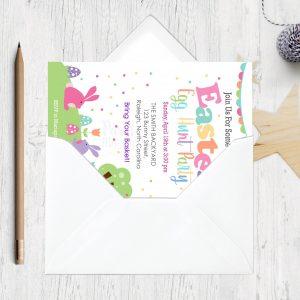 Easter Egg Hunt Easter Egg Hunt | Editable Printable Invitation | E448