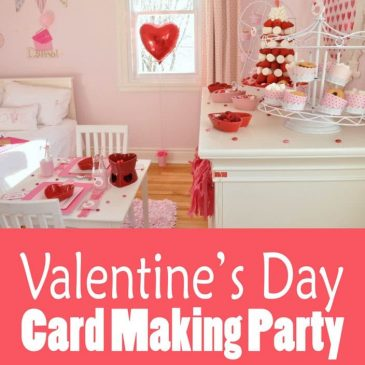 Valentine's Day Card Making Party