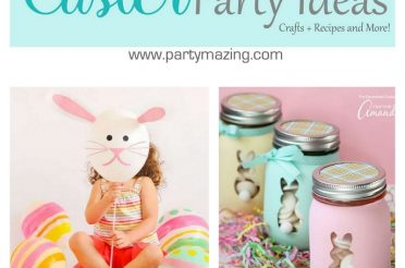 33 Easter Party Decor Ideas and Crafts for your Egg Hunting Party