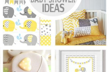 14 Yellow Elephant Baby Shower Ideas