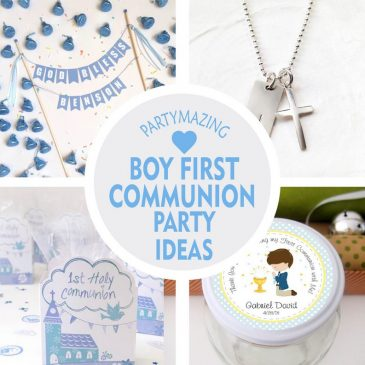 +10 Boy First Communion Party Ideas
