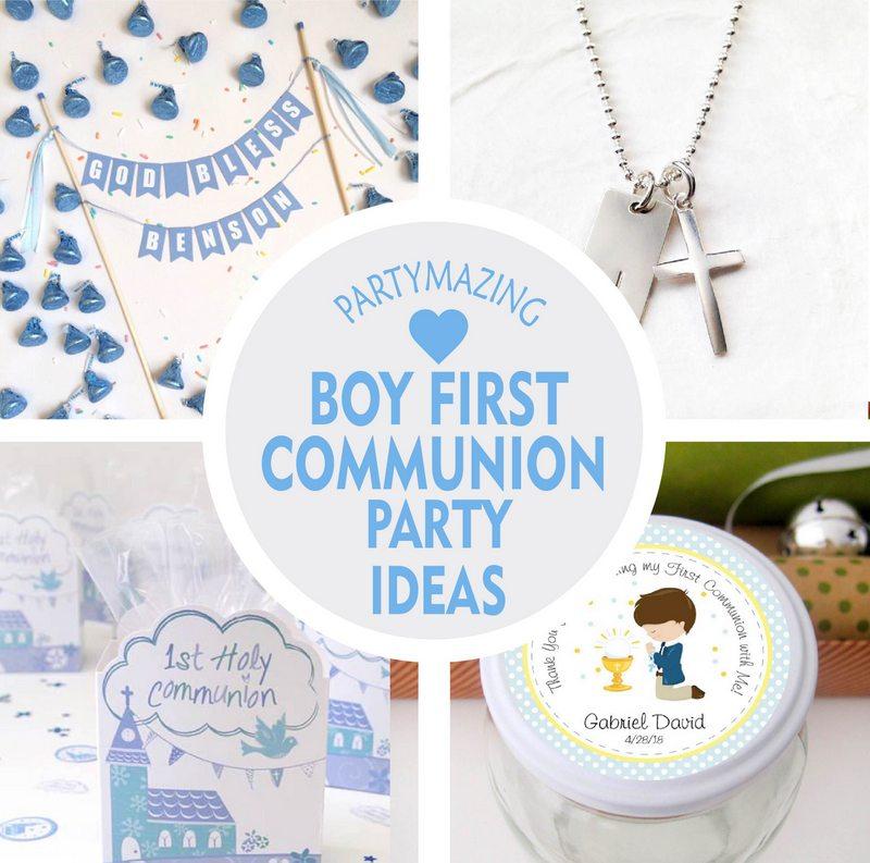 10 boy first communion party ideas