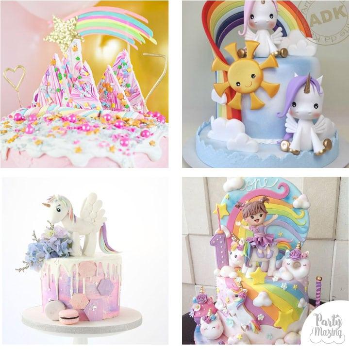 12 Unicorn Party Cake Ideas Diy Cake Partymazing