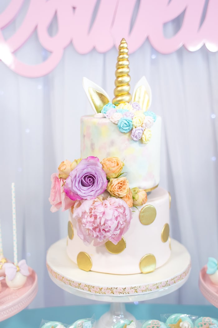 Magical Unicorn Birthday Party Cake Karaspartyideas 2017 06 Mystical