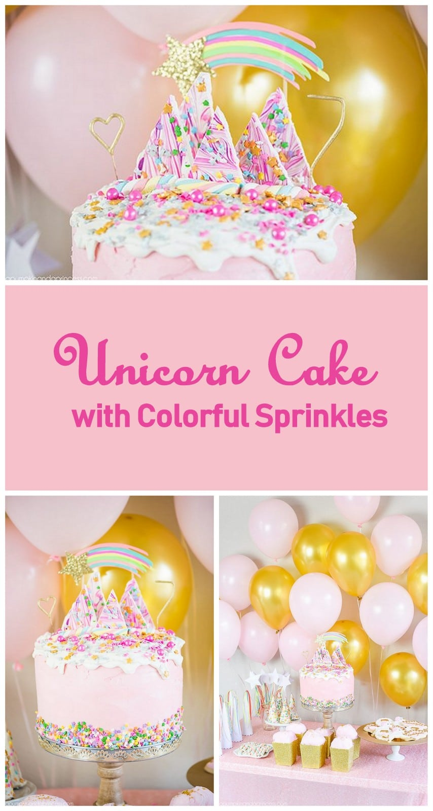 12 Unicorn Party Cake Ideas