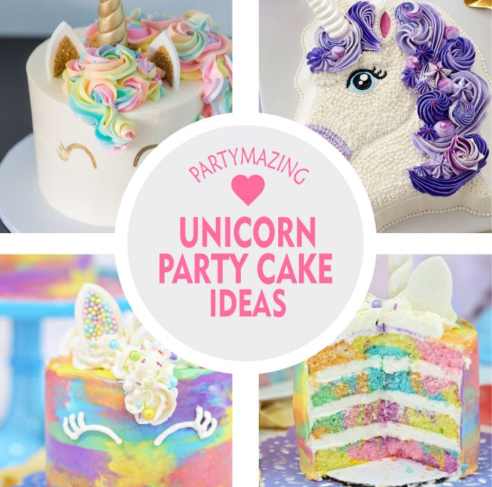 Pleasant 12 Unicorn Party Cake Ideas Diy Cake Partymazing Birthday Cards Printable Giouspongecafe Filternl