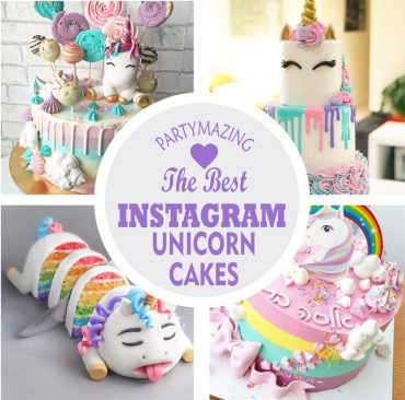 +16 Best Instagram Unicorn Cakes and Party Decor Ideas