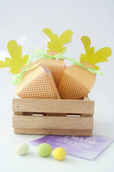 Free Easter Carrot Box Printable Template