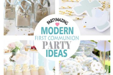 Over +12 Dove First Communion Ideas + Party Collection