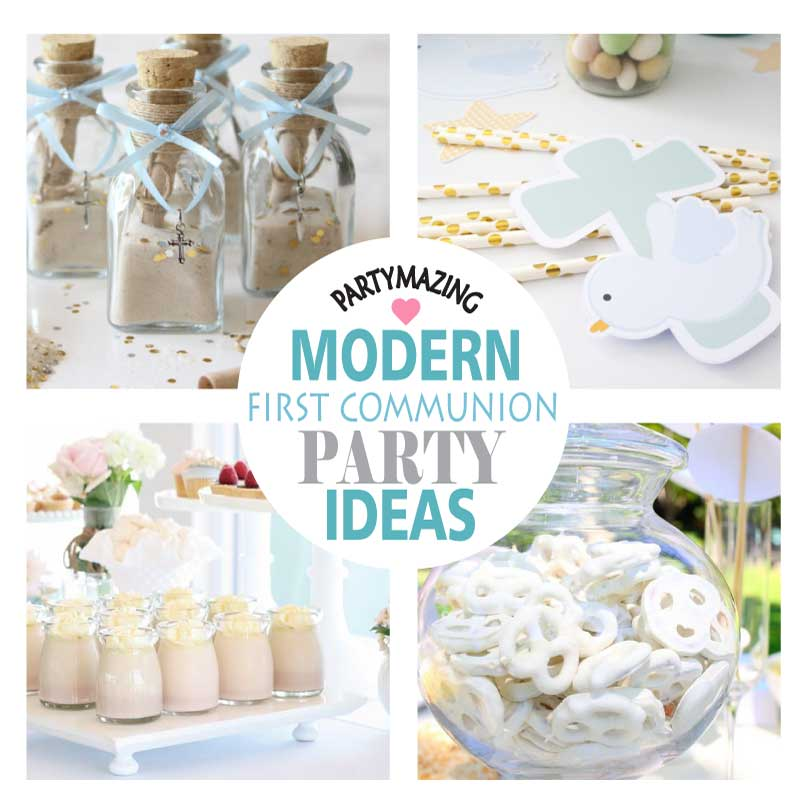 +15 Girl First Communion Party Ideas and Templates to make an amazing Party. Get inspired to create your own unforgettable celebration for your little girl.
