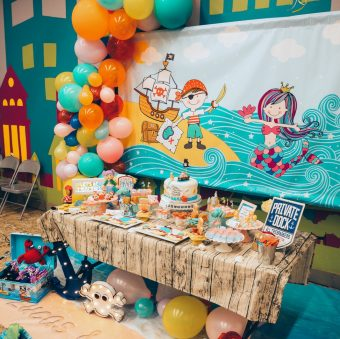 Mermaid & Pirate Party Ideas – Twins Birthday Party