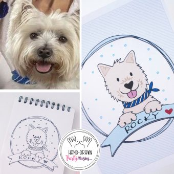 Creative Dog Lover Gift Ideas | Custom HandDrawn Dog Portraits