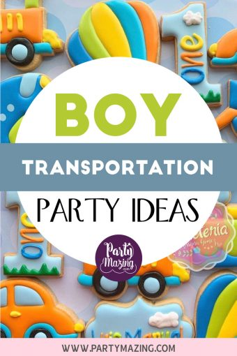 Boy Transportation Party Décor Ideas, food & Party Craft Projects