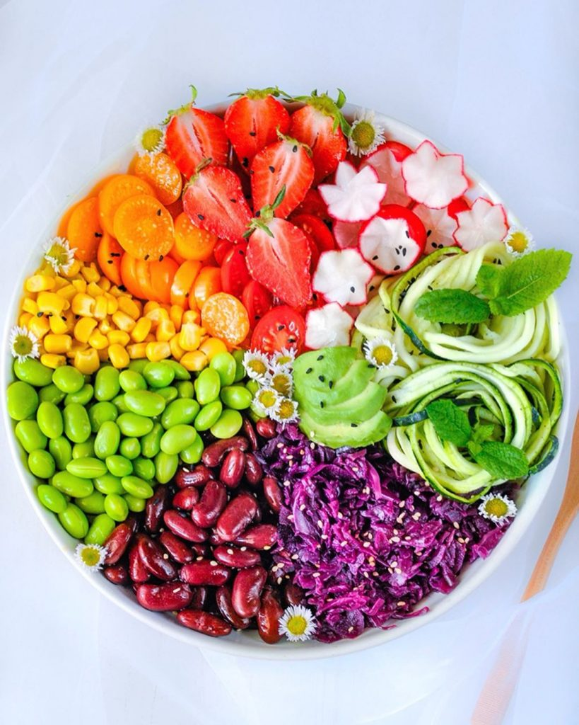 colorful healthy plate, Colorful Healthy Food Ideas and Tips for Your Party Table by Partymazing