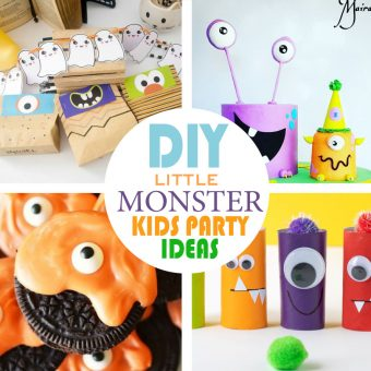Over 10 Halloween Little Monsters Party Party Ideas & Halloween Paper Bag Crafts for your Kids
