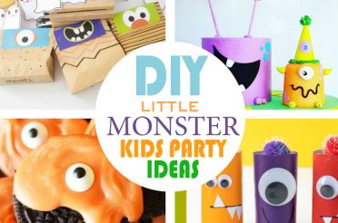 +10 Halloween Little Monsters Party Crafts for your Kids