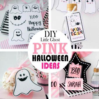 DIY Pink Halloween Ideas | Little Ghost Halloween Party
