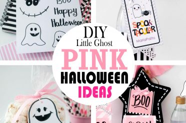 DIY Pink Halloween Ideas | Little Ghost Halloween Party