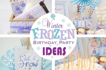 Winter Frozen Birthday Party Ideas