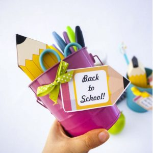 Apple and Pencil Printable Teacher appreciation Tag | PK12 | E156
