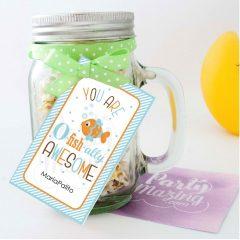 You are Ofishally Awesome Gift Tag | Printable Thank You Tag | PK02 | E113