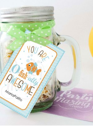 You are Ofishally Awesome Printable Gift Tag E113
