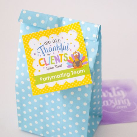 Editable Thankful For Clients Like You Gift Tag Label for Etsy Sellers and Small Business Owners   Editable Tag   E266