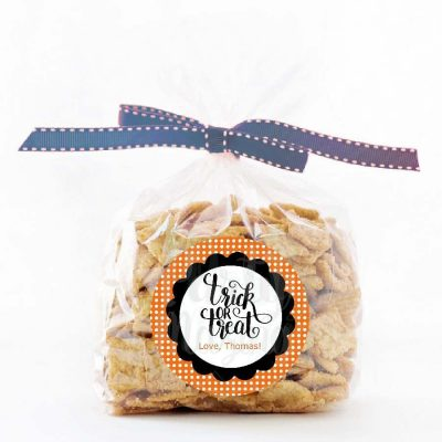 Editable Trick or Treat Halloween Party Favor Tags| Printable Treat Bag Labels | PK20 | E252